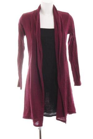 Bodyflirt Gebreide jurk zwart-rood casual uitstraling