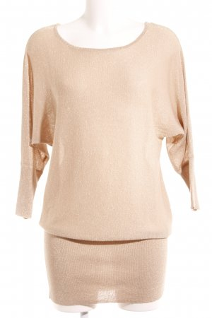 Bodyflirt Strickpullover creme-goldfarben Casual-Look