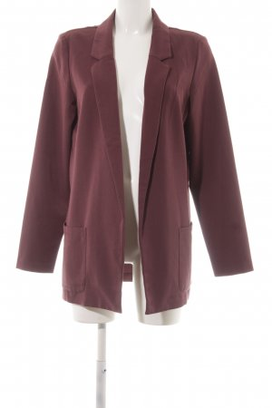 Bodyflirt Sweat Blazer blackberry-red elegant