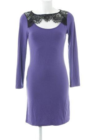 Bodyflirt Vestido de tela de sudadera lila estilo sencillo
