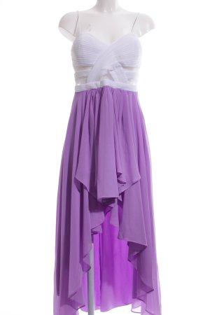 Bodyflirt Pinafore dress white-lilac party style