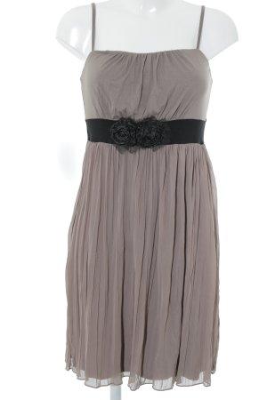Bodyflirt Trägerkleid graubraun-schwarz Elegant