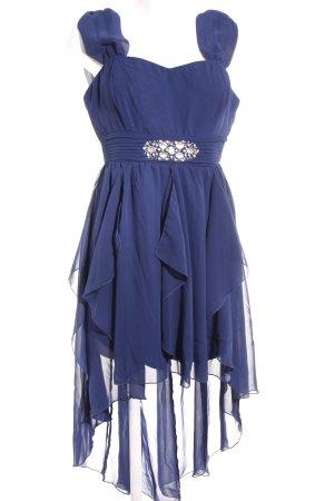 Bodyflirt Vokuhila-Kleid dunkelblau Elegant