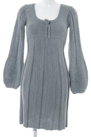 Bodyflirt Wollen jurk lichtgrijs