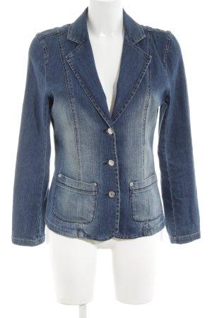 Bodyright Denim Jacket blue street-fashion look