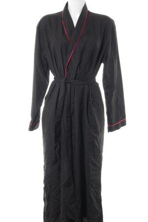 Börner Übergangsmantel schwarz-rot Street-Fashion-Look