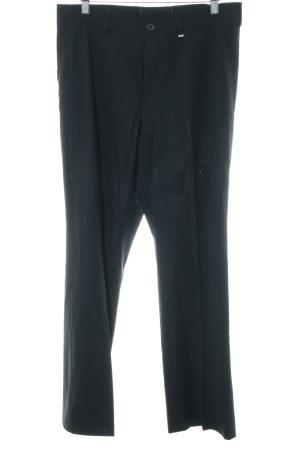 Bogner Anzughose schwarz Business-Look