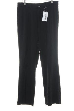 Bogner Pantalone da abito nero stile professionale