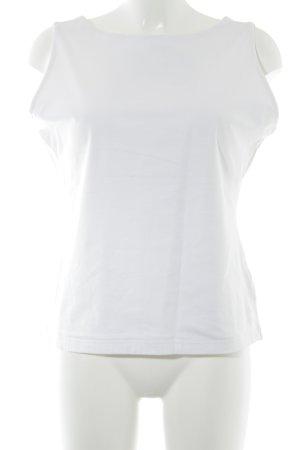 Bogner Basic Top weiß Casual-Look
