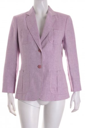 Bogner Blazer flieder-wollweiß Webmuster Business-Look