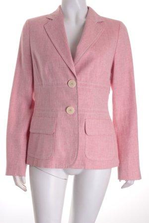 Bogner Blazer rosa-wollweiß Webmuster Business-Look
