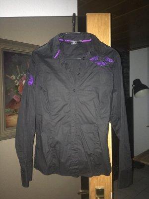 Bogner Blusa negro-lila