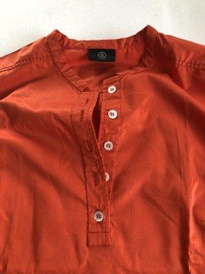 BOGNER Bluse ärmellos, Größe 38 Orangerot