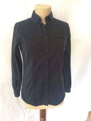 Bogner Bluse schwarz Gr. 36 schlicht top