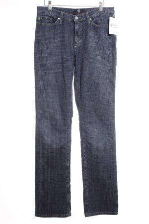 Bogner Boot Cut Jeans dunkelblau Casual-Look
