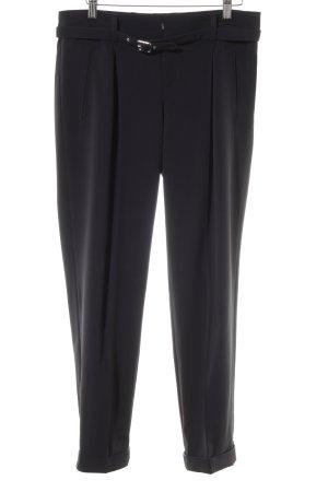 Bogner Pantalón de pinza azul oscuro estilo «business»
