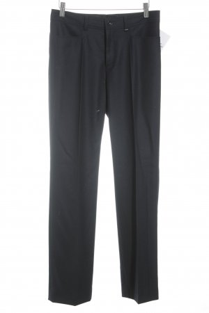 Bogner Bundfaltenhose dunkelblau Business-Look