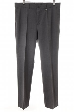 Bogner Bundfaltenhose dunkelgrau Business-Look