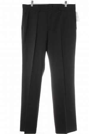 Bogner Bundfaltenhose schwarz Business-Look