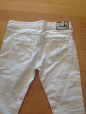 Bogner Fire + Ice Pantalone Capri bianco Cotone