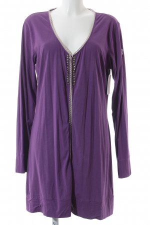 Bogner Cardigan violett-beige Casual-Look