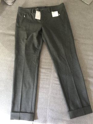 Bogner Pleated Trousers dark grey-anthracite polyester