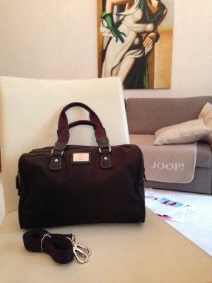 Bogner Damentasche, braun, Leder/Nilon, wie neue