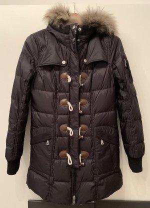 Bogner Daunen-Jacke lang mit Echtfell, fast neu