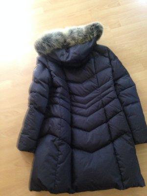 Bogner Daunen Mantel Gr. 42 (XL) mit dickem Echtfell-Blaufuchs-Kapuze