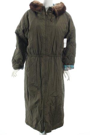 Bogner Daunenmantel dunkelgrün 80ies-Stil