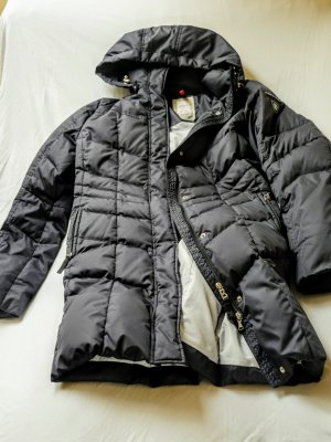 Bogner Fire + Ice Manteau en duvet bleu foncé