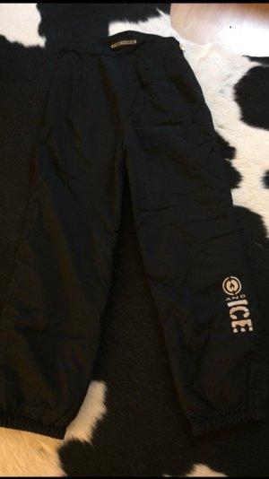 BOGNER FIRE AND ICE Skihose high waist schwarz / weiß Größe XS / 34