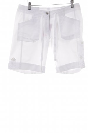 Bogner Fire + Ice Bermudas white athletic style