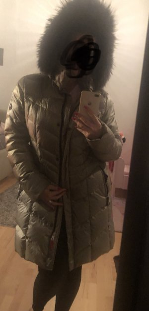 Bogner Fire + Ice Down Coat gold-colored