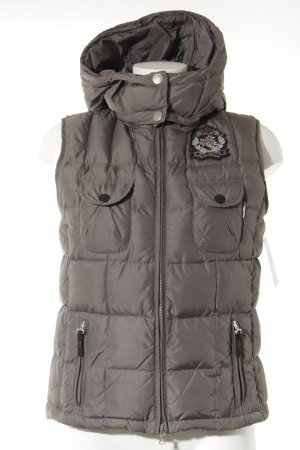 Bogner Fire + Ice Daunenweste grau Steppmuster Casual-Look
