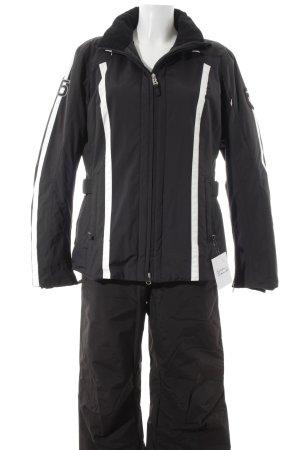 Bogner Fire + Ice Hosenanzug schwarz-weiß sportlicher Stil
