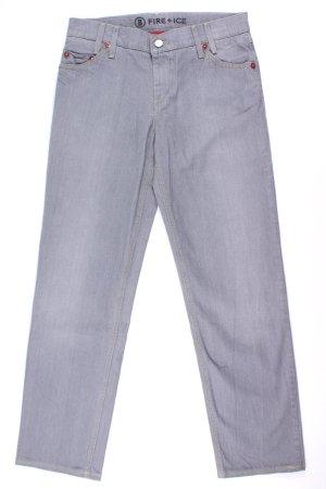 Bogner Fire + Ice Jeans mit roten Details grau Größe 84