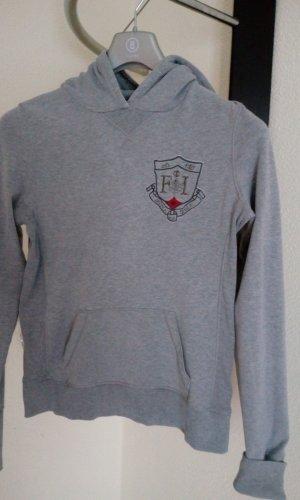 Bogner Fire + Ice Hooded Sweatshirt light grey cotton