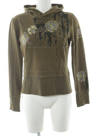 Bogner Fire + Ice Sweatshirt met capuchon bloemenprint casual uitstraling