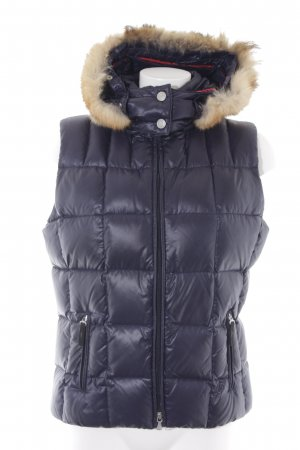 Bogner Fire + Ice Chaleco con capucha azul oscuro estilo deportivo