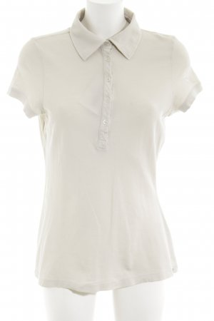 Bogner Fire + Ice Camiseta tipo polo blanco puro look casual