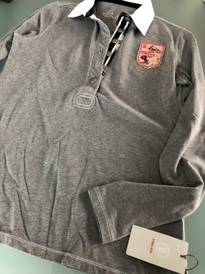 BOGNER FIRE&ICE Rugbyshirt, Größe 40, Grau, Neu