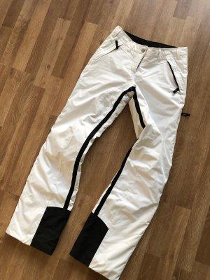Bogner Fire + Ice Pantalón de esquí blanco-negro