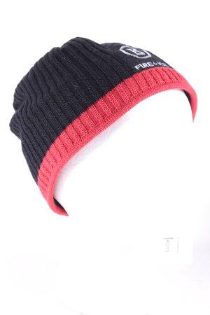 Bogner Fire + Ice Strickmütze schwarz-rot sportlicher Stil
