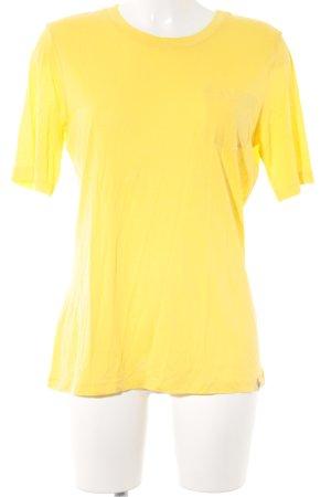 Bogner Fire + Ice T-shirt geel casual uitstraling