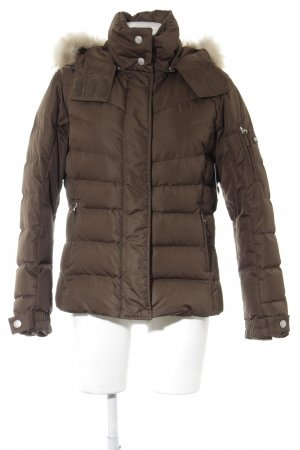 Bogner Fire + Ice Winterjacke graubraun Steppmuster Street-Fashion-Look
