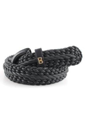 Bogner Braided Belt black classic style