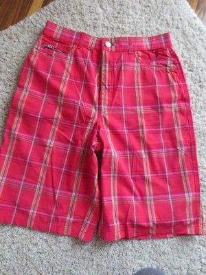 Bogner Golfpermuda, Gr. 40, rot karriert, nur 2x getragen