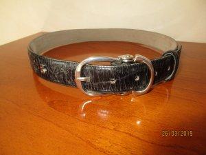 Bogner Jeans Leather Belt black leather