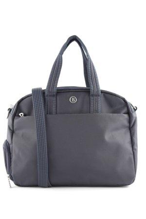 Bogner Handtasche hellgrau Business-Look